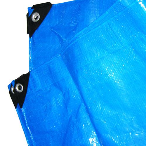 180gsmBlueHeavyDutyPolyethyleneWaterproofTarpaulin