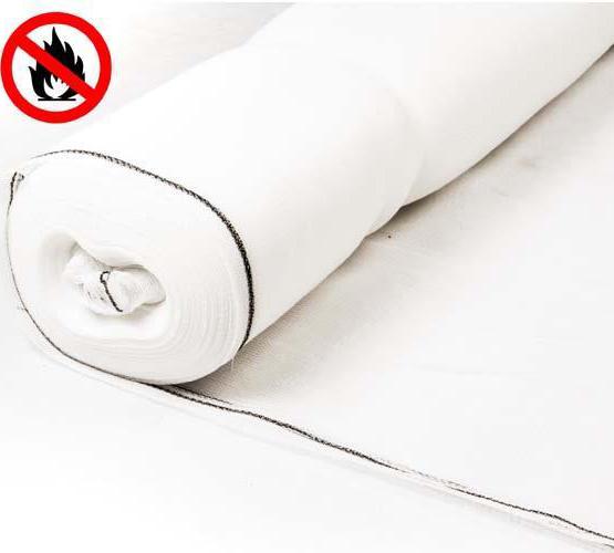 Flame Retardant Heavyweight Debris Netting - 60gsm