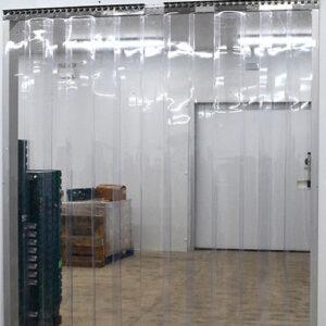 GlassClearPVCStripCurtainDoorKitToStopInsects